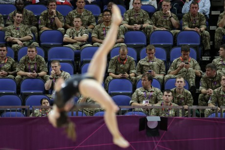 London Olympics Gymnastics USA Team