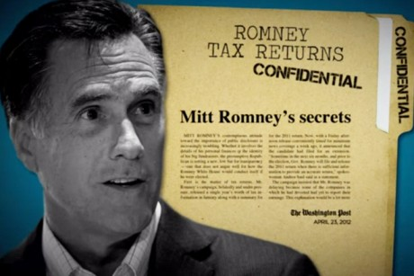 Can Mitt hide his taxes forever?