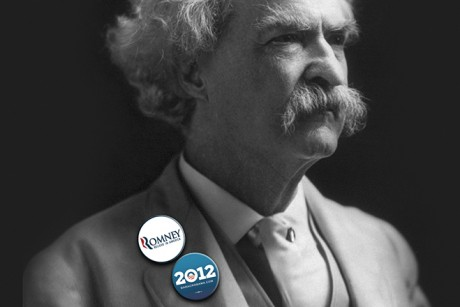 Mark Twain invented Mitt