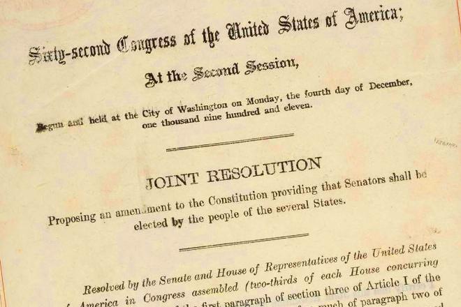 Repeal The 17th Amendment Salon