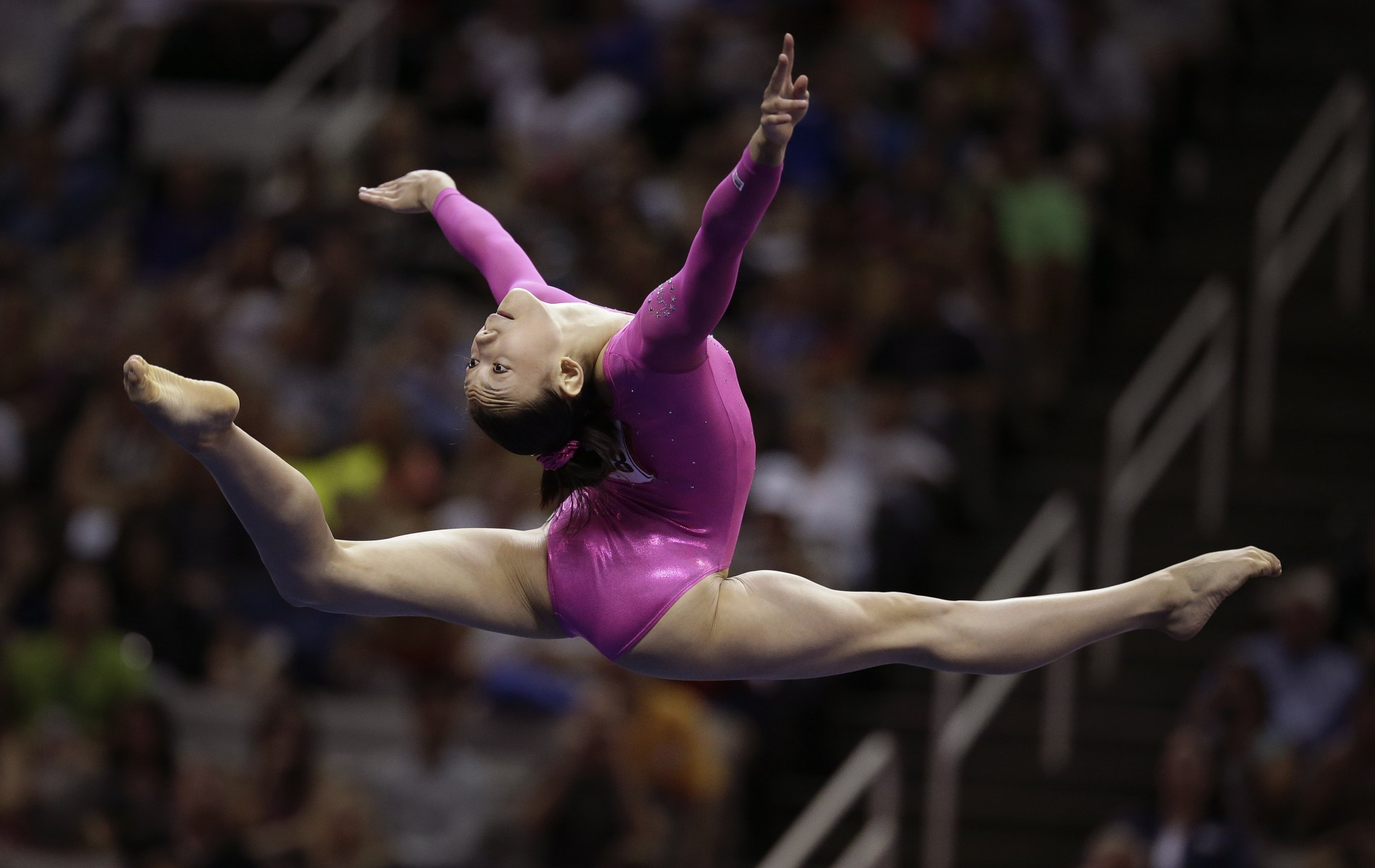 Can We Talk About Katelyn Ohashis Flawless Gymnastics