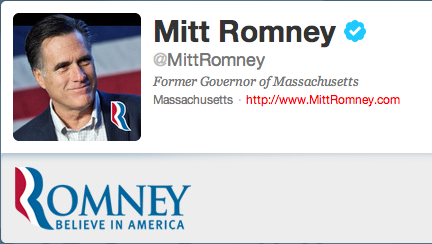 Romney drops $100K on Twitter