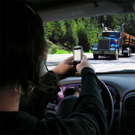 Can cellphones save us from car accidents?