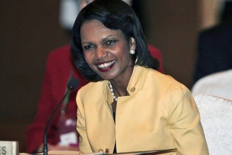 Former Secretary of State Condoleeza Rice ...