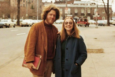 When Bill met Hillary