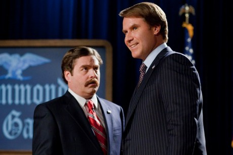 American politics: Too crazy for the movies Zach Galifianakis and Will ...