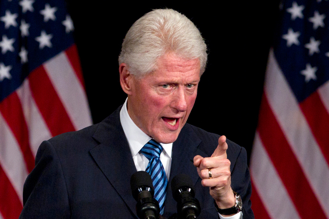 It is 1998 and Congress is pressing for the censure and impeachment of President Clinton, following the revelation that he had lied about his affair with Monica Lewinsky, based on the public accusations made by the independent counsel Ken Starr.