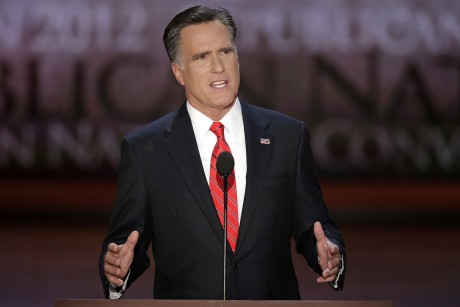 Mitt's humor: Tampa will be under water in a century