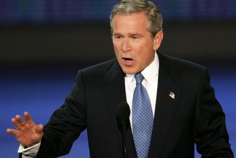 Exit poll: Many still blame Bush for bad economy