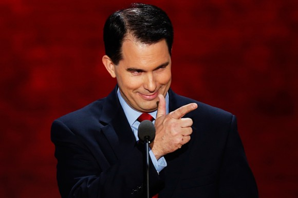 Scott Walker rails against