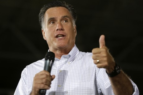 Mitt's shameful Libya statement