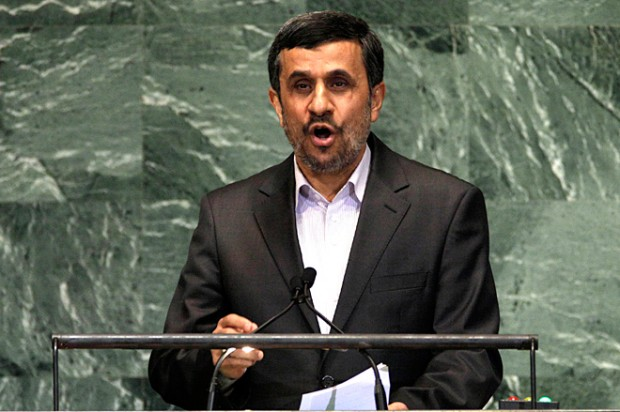 Ahmadinejad wants to undo most of history