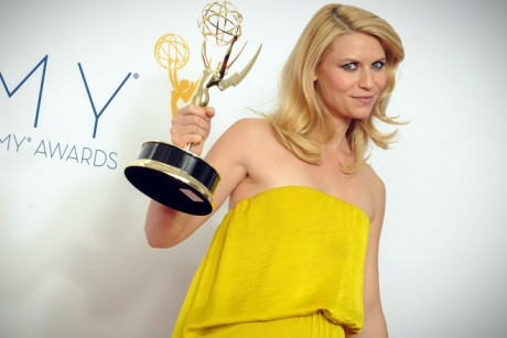 Claire Danes Emmy on Actress Claire Danes Winner Of The Outstanding Lead Actress In A Drama