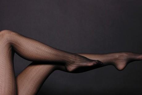 Ножки фото в черных колготках