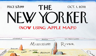 Mad Magazines New Yorker Cover Parody Is Amazing Saloncom - New yorker map of the us