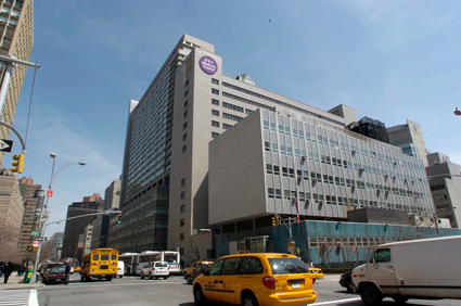Pregnant woman evacuated from NYU while in labor (Credit: Wikimedia)