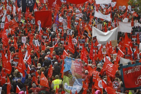 Mass anti-austerity protests hit Europe