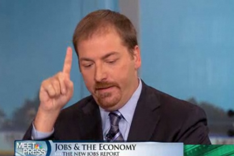Sunday best: Chuck Todd loses it