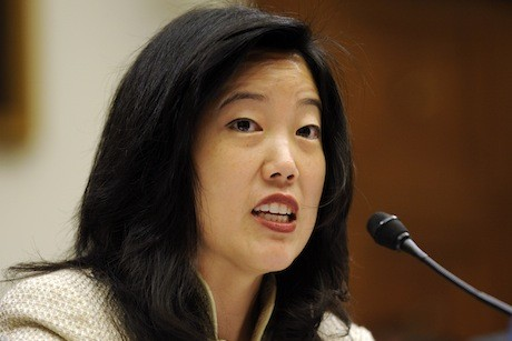 Michelle Rhee's right turn