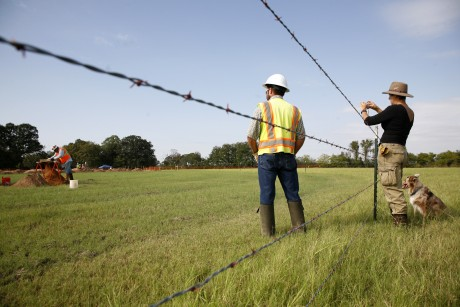 Oil Pipeline Texas Landowners