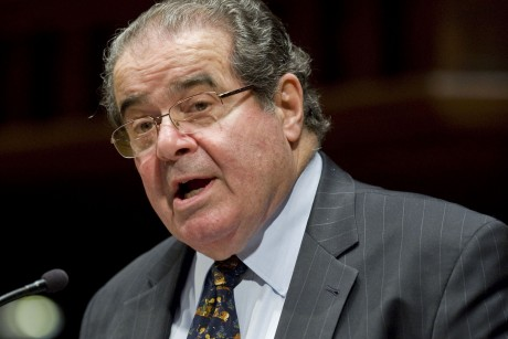 Scalia says abortion, gay rights are easy cases In this March 8, ...