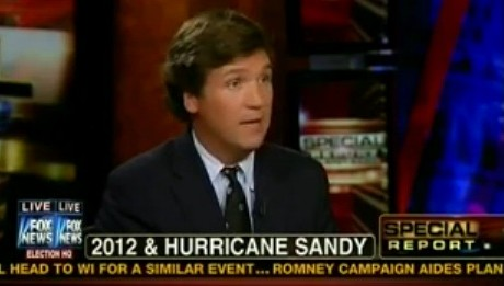 Must-see morning clip: Tucker Carlson's theory on Sandy