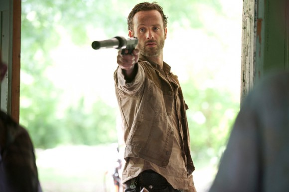"Rick Grimes (Andrew Lincoln), from ""The Walking Dead."""