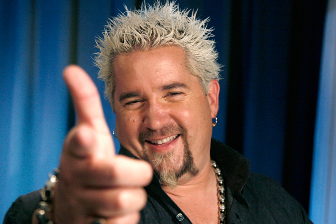the new york times barbecues guy fieri