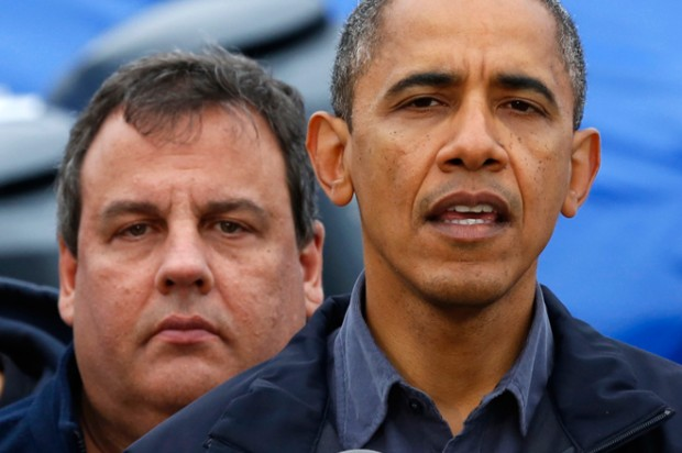 Obama and Christie: It's all right to cry