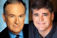 Bill O'Reilly and Sean Hannity
