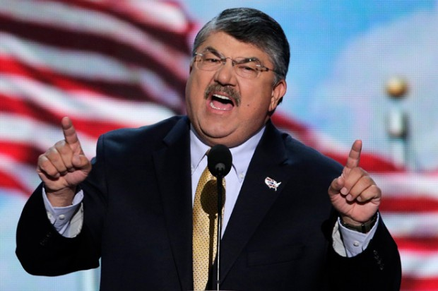 Labor chief Richard Trumka: