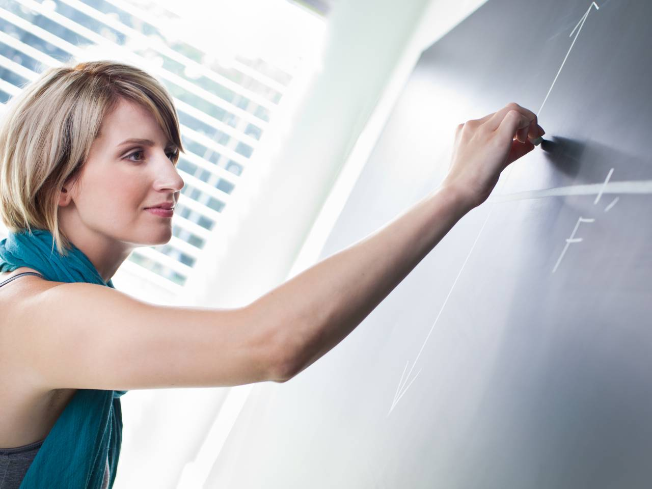 Classroom Teacher Teaching Students