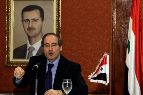 Syrian leader sends message to Venezuela's Chavez