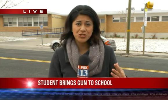Utah elementary school student brought gun to school