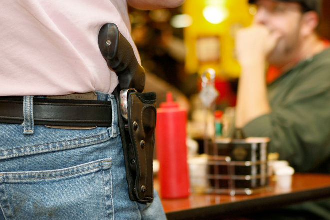 why teachers are allowed to carry These schools say arming teachers 'can be done right' has allowed staff members to carry concealed weapons on campus for the last year.