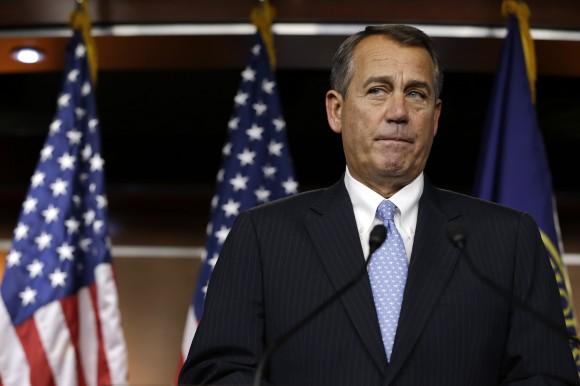 The humiliation of John Boehner