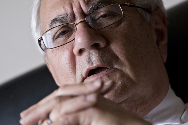Why is Barney Frank breaking the rules?