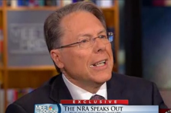 LaPierre: Foaming at the mouth