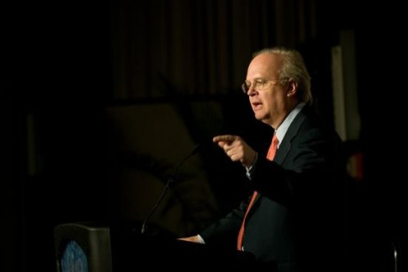 Tea Party unhappy about Karl Rove's war on the Tea Party