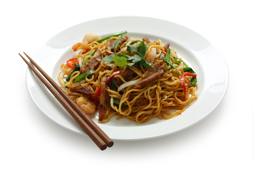 There is no chinese cuisine for Asian food cuisine