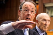 Debt Commission co-chairmen Erskine Bowles, and former Wyoming Sen. Alan Simpson.