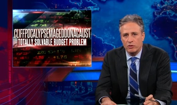 Must-see morning clip: Jon Stewart on the