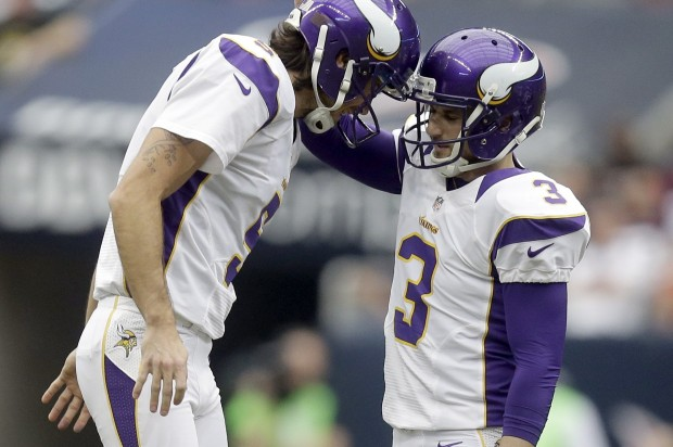 Vikings punter Chris Kluwe to release a collection of
