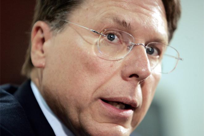 NRA Executive Vice-President Wayne LaPierre -