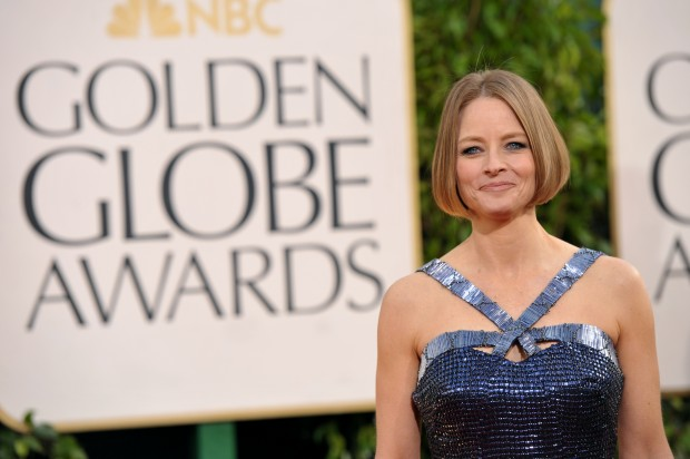 Jodie Foster comes out — her way