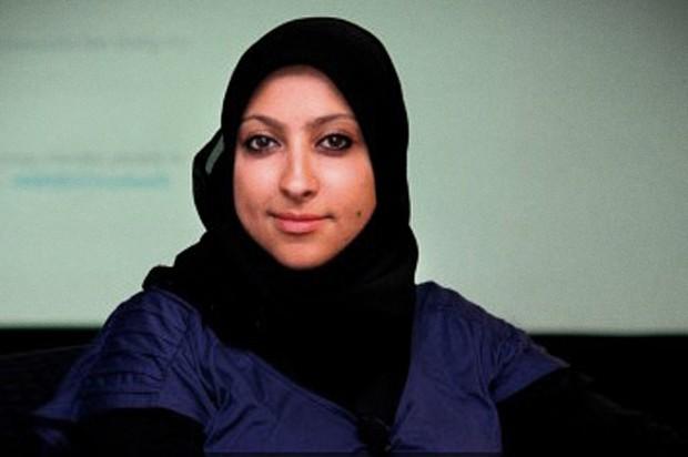 Bahraini activist's triumphant return