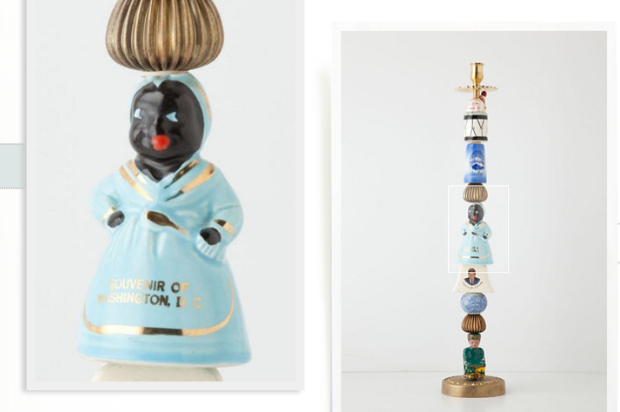 Anthropologie's racist candlestick
