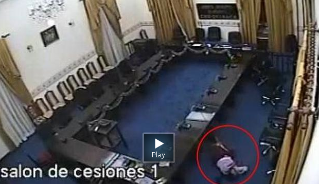 Bolivian lawmaker caught on video allegedly raping an unconscious woman