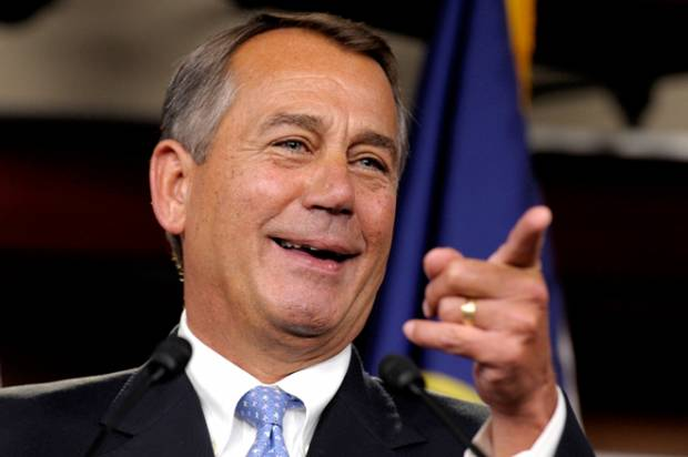 Is John Boehner hitting the bottle?