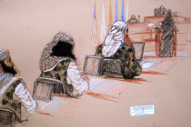 Gitmo trial's bizarre censorship